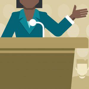 Public Speaking – Speaking Under Pressure